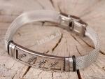 Armband Luxe Staal Met Figuur