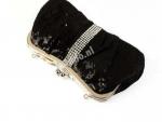 Luxe zwarte tas