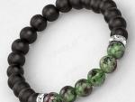 Luxe Armband Groen Zwart